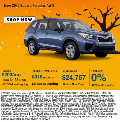 2020 Subaru Forester AWD