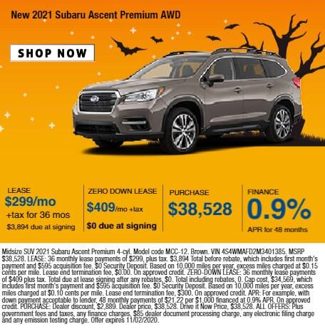 2021 Subaru Ascent Premium AWD