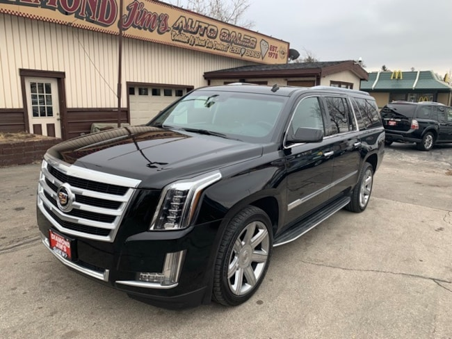 Used 2015 Cadillac Escalade Esv For Sale At Diamond Jim S Vin