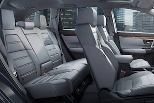 Cabin of the 2018 Honda CR-V