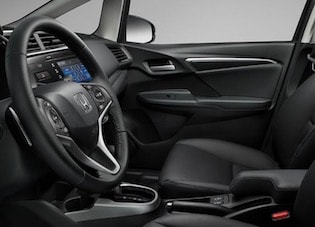 Interior of the 2018 Honda Fit