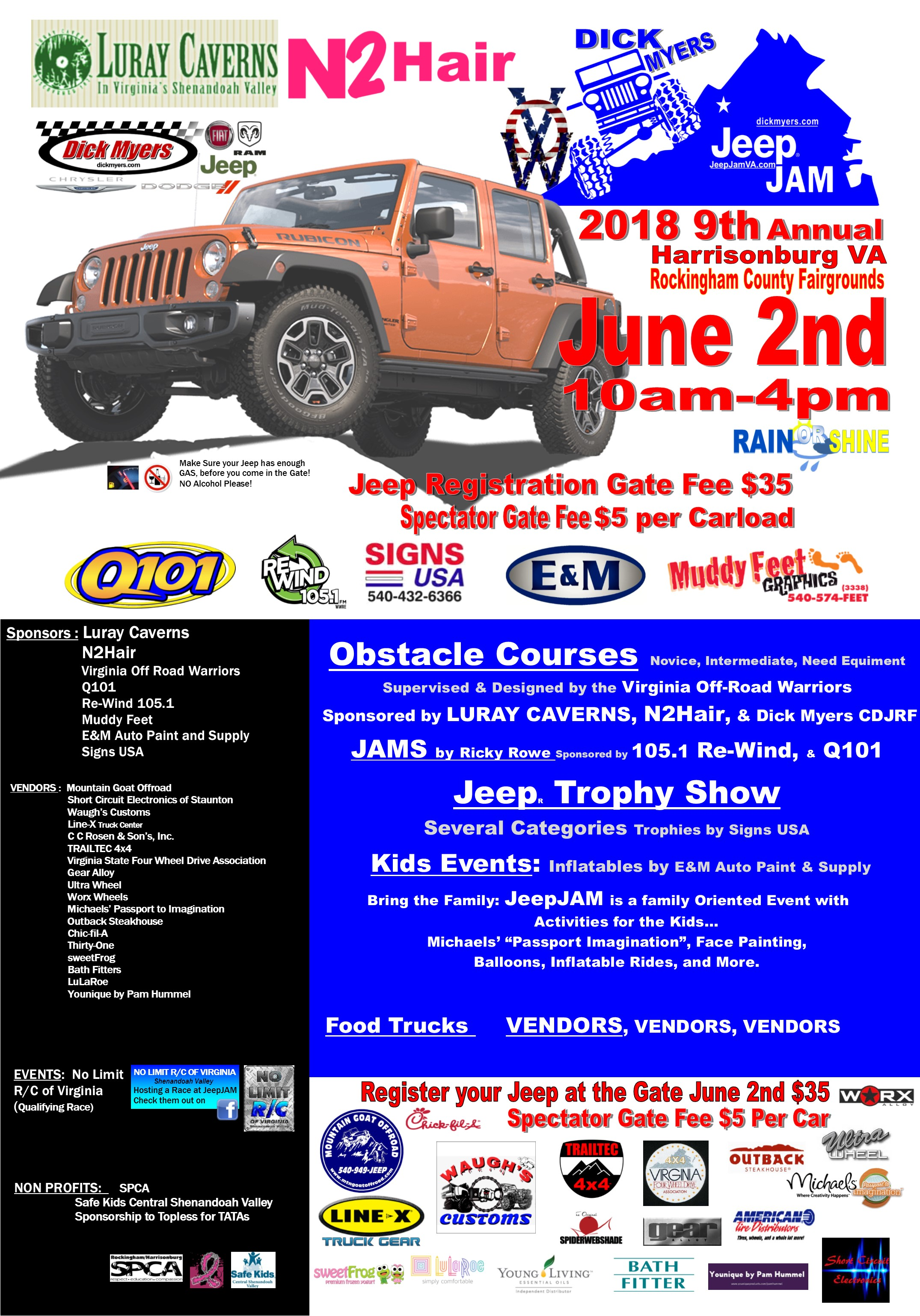 Dick Myers Jeep Jam 2019 Dick Myers Chrysler Dodge Jeep