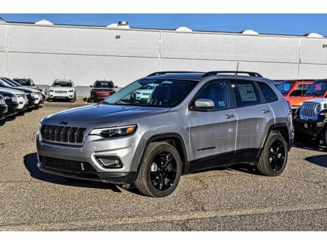 New 2019 Jeep Cherokee ALTITUDE FWD Sport Utility in El Paso