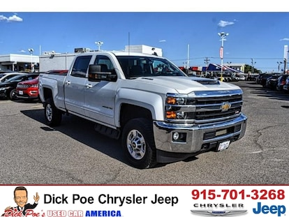 Used 2018 Chevrolet Silverado 2500HD 4WD Crew CAB 153 7 LT For Sale | El  Paso TX | Near Las Cruces & Horizon City | VIN: 1GC1KVEY4JF266422