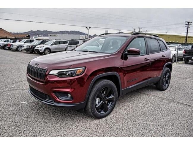 New 2019 Jeep Cherokee ALTITUDE 4X4 Sport Utility in El Paso