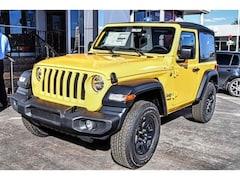 New Chrysler Jeep 2019 Jeep Wrangler SPORT 4X4 Sport Utility 1C4GJXAG7KW539201 in El Paso, TX