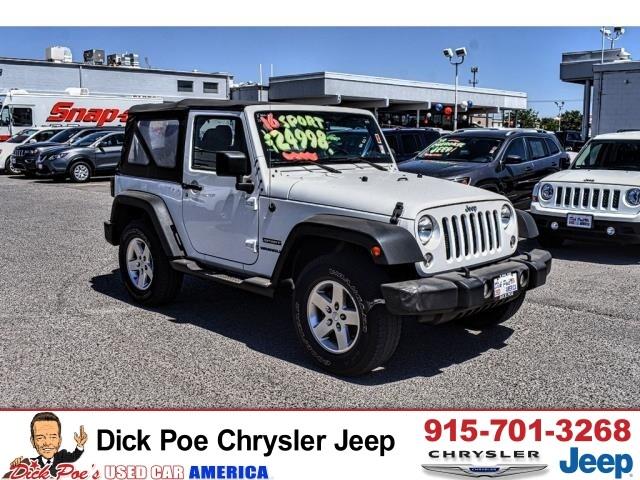 2019 Jeep Wrangler For Sale in El Paso TX | Dick Poe