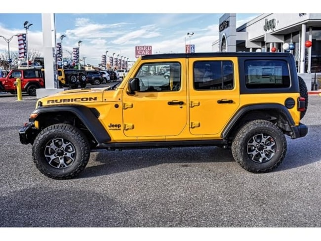 Dick Poe Jeep >> 2019 Jeep Wrangler UNLIMITED RUBICON 4X4 For Sale | El ...