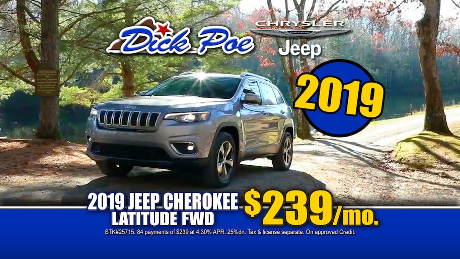 Dick Poe Jeep >> El Paso New 2018-2019 Chrysler Jeep and Used Car Dealership