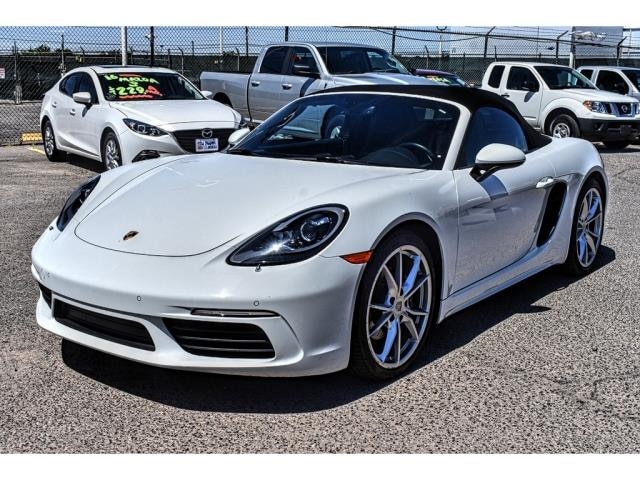 Used 2017 Porsche 718 Boxster For Sale | El Paso TX | Near Las Cruces &  Horizon City | VIN: WP0CA2A84HS221661