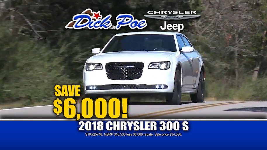 El Paso New 2018-2019 Chrysler Jeep and Used Car Dealership