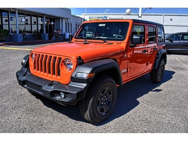 Jeep El Paso >> 2018 Jeep Wrangler Unlimited Sport 4x4 For Sale El Paso Tx Near Las Cruces Nm Horizon City Vin 1c4hjxdn2jw189330