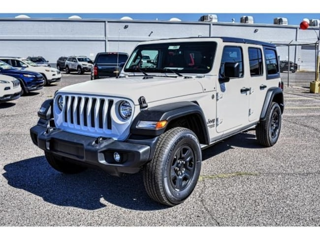 2018 jeep wrangler unlimited sport 4x4 for sale el paso tx near las cruces nm horizon city. Black Bedroom Furniture Sets. Home Design Ideas