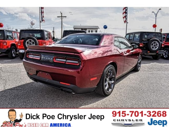 Used 2019 Dodge Challenger R/T RWD in El Paso