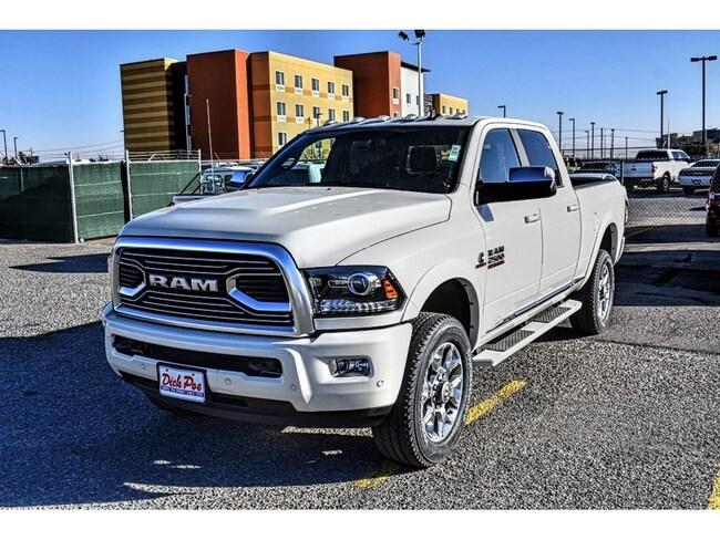 New 2018 Ram 2500 LIMITED CREW CAB 4X4 6'4 BOX Crew Cab in El Paso, TX