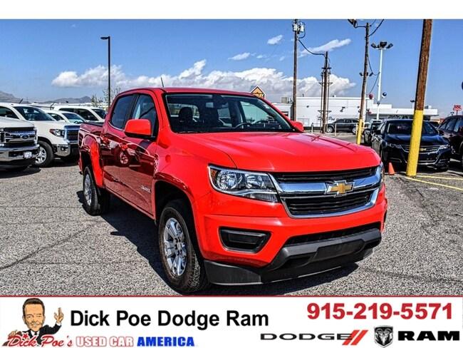 Used 2018 Chevrolet Colorado 2WD Crew CAB 128.3 LT truck in El Paso, TX