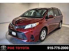 New 2019 Toyota Sienna LE 8 Passenger Van in El Paso, TX