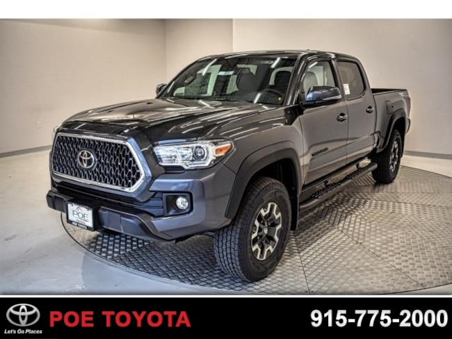 New 2019 Toyota Tacoma Trd Off Road V6 For Sale In El Paso Tx Vin