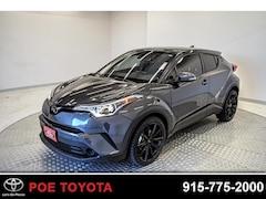 Certified 2018 Toyota C-HR XLE Premium SUV in El Paso, TX