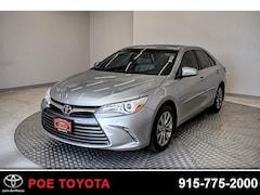 Used 2017 Toyota Camry XLE Sedan in El Paso, TX