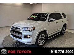 Used 2017 Toyota 4Runner Limited SUV in El Paso, TX