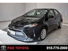 Used 2017 Toyota Corolla LE Sedan in El Paso, TX