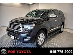 New 2018 Toyota Sequoia Platinum SUV in El Paso, TX