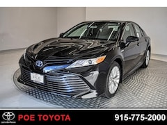 New 2019 Toyota Camry Hybrid XLE Sedan in El Paso, TX