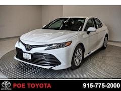 New 2019 Toyota Camry LE Sedan in El Paso, TX