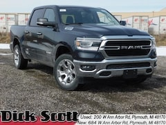 New 2019 Ram 1500 BIG HORN / LONE STAR CREW CAB 4X4 5'7 BOX Crew Cab for sale in Plymouth MI