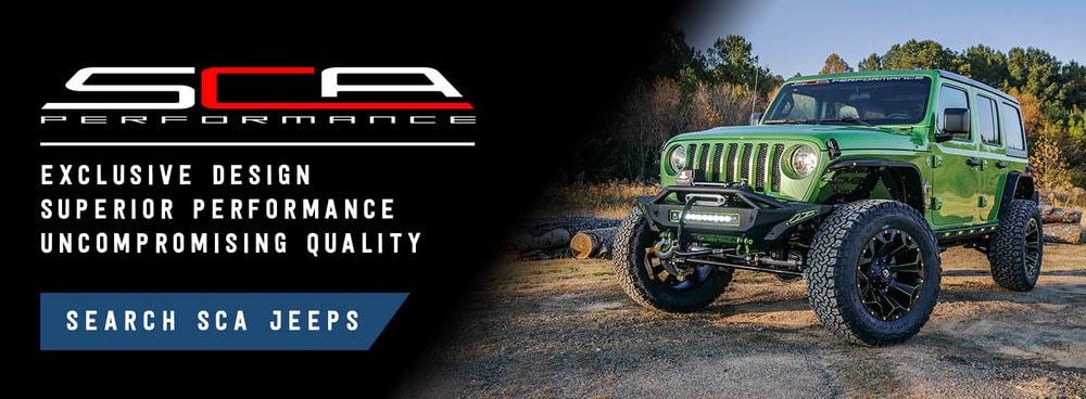 SCA Performance - Jeep Wrangler Black Widow