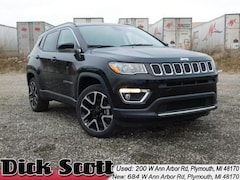 New 2019 Jeep Compass LIMITED 4X4 Sport Utility for sale at Dick Scott Automotive Group
