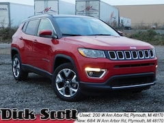 Used 2019 Jeep Compass Limited SUV for sale in Plymouth, MI