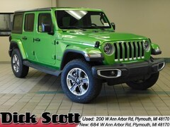 New 2019 Jeep Wrangler UNLIMITED SAHARA 4X4 Sport Utility for sale at Dick Scott Automotive Group
