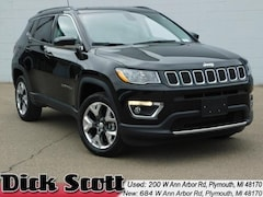 New 2019 Jeep Compass LIMITED 4X4 Sport Utility for sale in Plymouth MI