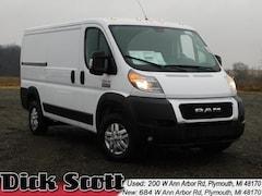 New 2019 Ram ProMaster 1500 CARGO VAN LOW ROOF 136 WB Cargo Van for sale in Plymouth MI