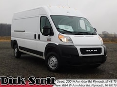 New 2019 Ram ProMaster 3500 CARGO VAN HIGH ROOF 159 WB Cargo Van for sale in Plymouth MI