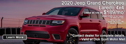 January Best Shot Jeep Grand Deal!