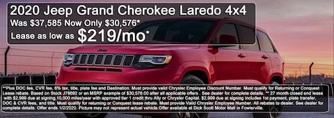 December Best Shot Jeep Deal!