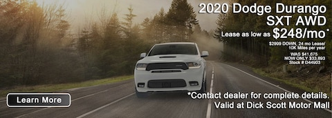 Best Shot March Durango Deal!