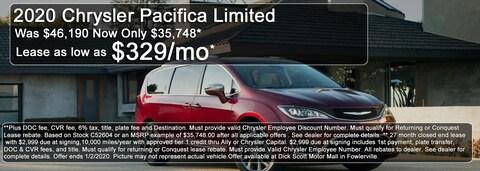 December Best Shot Chrysler Deal!
