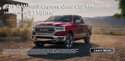 2019 RAM 1500 Quad Cab Express 4x4