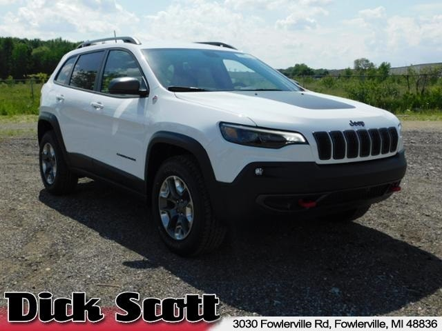New 2019 Jeep Cherokee TRAILHAWK 4X4 Sport Utility For Sale in Fowlerville MI