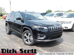 New 2019 Jeep Cherokee LIMITED 4X4 Sport Utility for sale in Fowlerville, MI