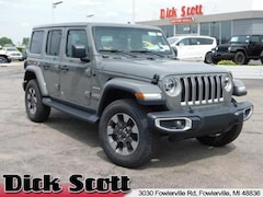 New 2018 Jeep Wrangler UNLIMITED SAHARA 4X4 Sport Utility for sale in Fowlerville, MI