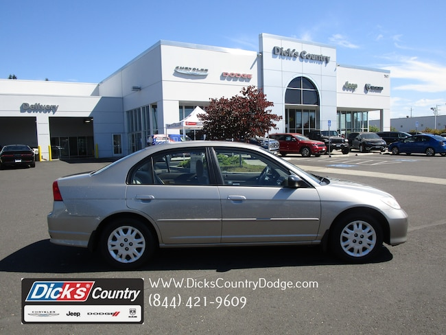 Used 2005 Honda Civic LX Sedan Hillsboro Oregon