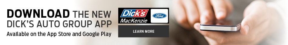 Dick's Mackenzie Auto Group App