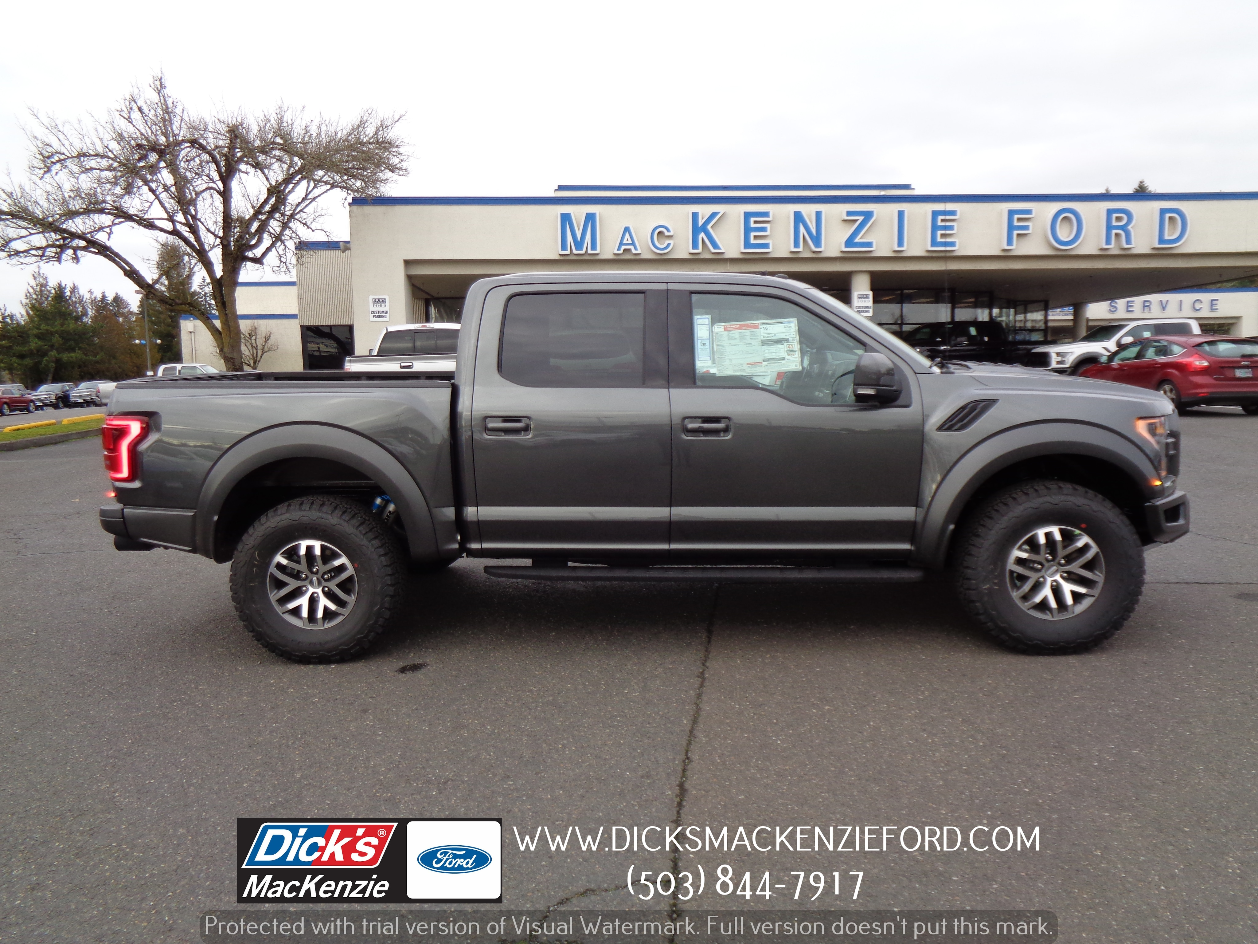 2018 Ford F-150 RAPTOR 4WD CREW145 Raptor 4WD SuperCrew 5.5 Box