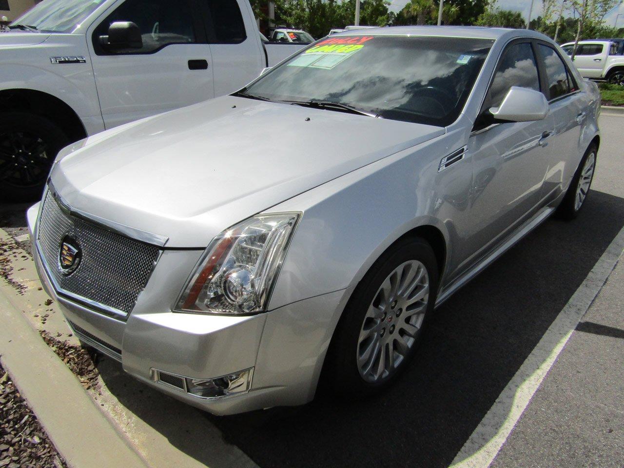 2012 Cadillac CTS Sedan Performance Sedan
