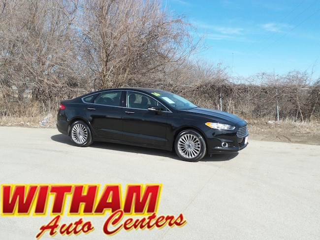 2016 Ford Fusion Titanium Sedan